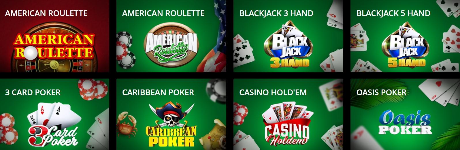 Virtual сasino в PokerMatch