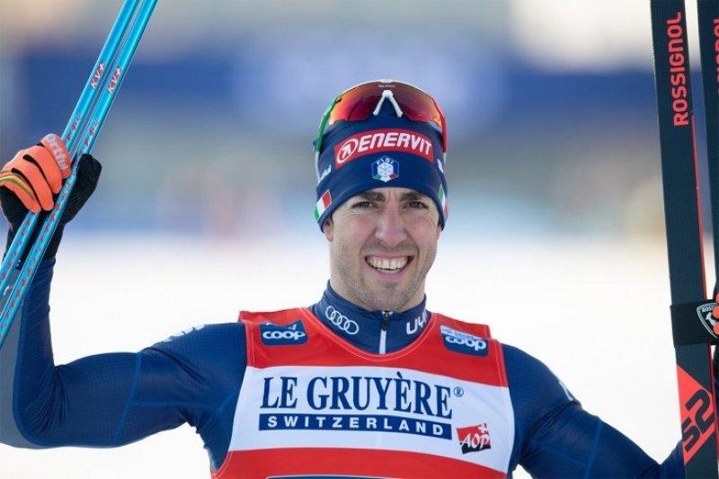 Итальянские лыжники завоевали золото в командном спринте на пятом этапе КМ в Ульрисехамне