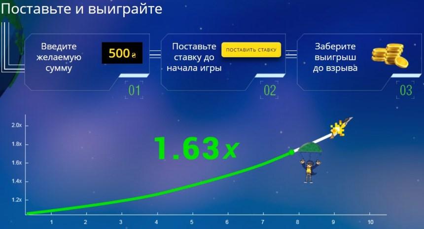 JetX в казино PokerMatch