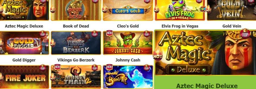 Слоты в Casino Token