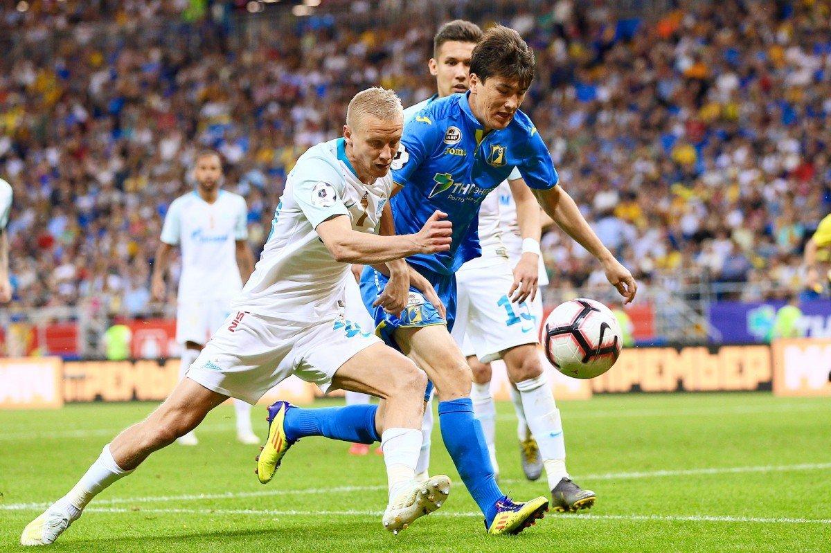«Зенит» — «Ростов»: ставки, прогнозы и коэффициенты букмекеров на матч 19 октября 2019 года