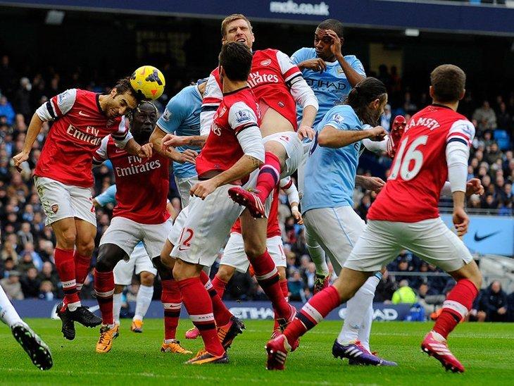 «Арсенал» та «Манчестер Сіті» посперечаються за поточне друге місце АПЛ