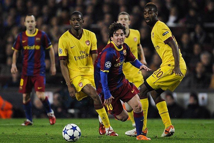 Чергова спроба «Арсенала» зупинити «Барселону»