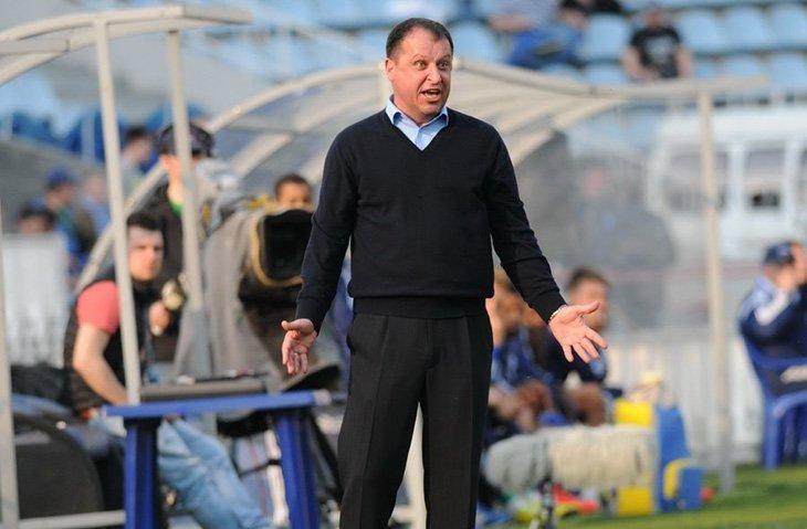 Головний тренер луганської «Зорі» Юрій Вернидуб