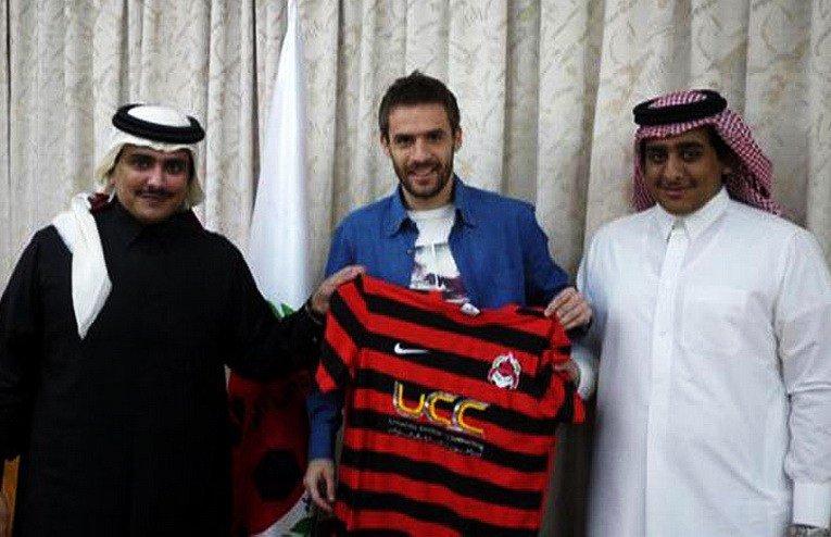 Марко Девич на презентації в «Аль-Райяна»: серб встиг скуштувати «принад» катарського футболу