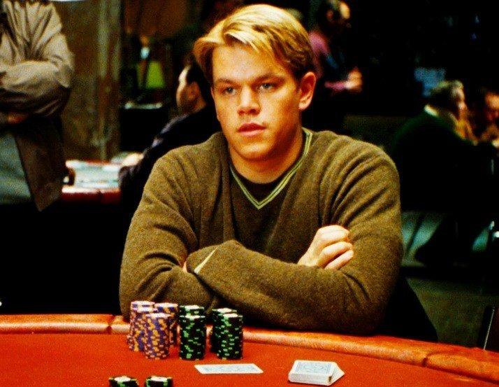 Герой Метта Деймона: я не тільки в покер вмію, але і фішки метати навчений ...