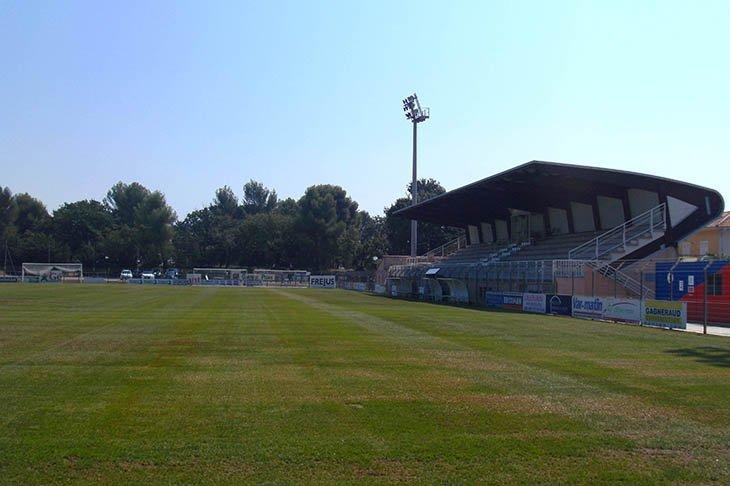 Місце злочину: саме на цьому стадіоні у комуні Фрежю відбувся даний «договірняк»