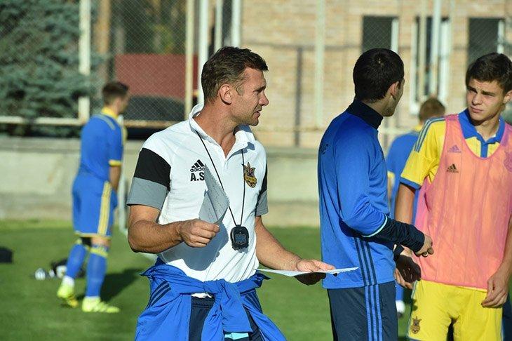 Перший матч збірної в кваліфікації до ЧМ-2018 буде дебютом Андрія Шевченка в якості головного тренера