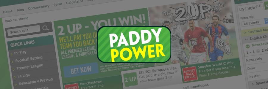 Лого Paddy Power