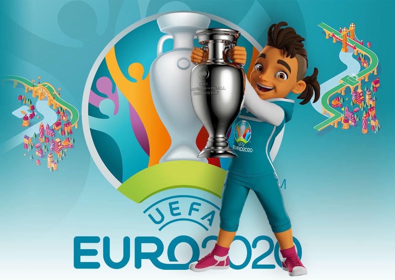 Талісман та логотип Євро 2020