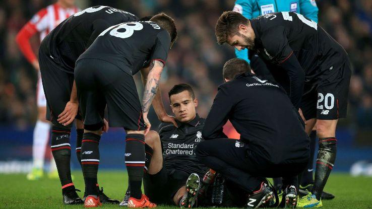 Coutinho's injury