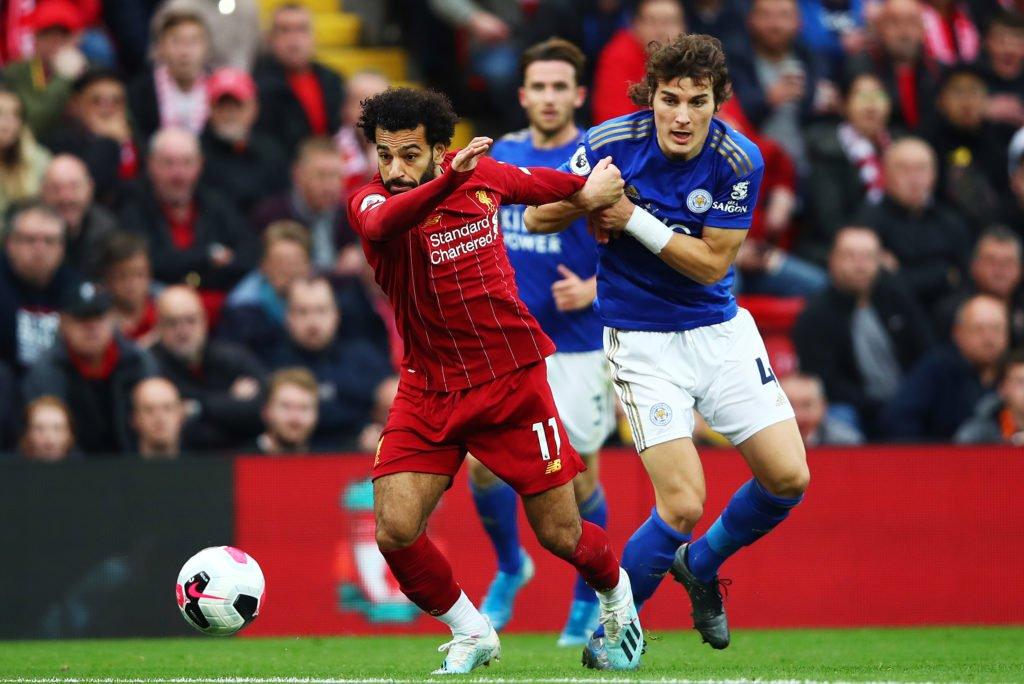 Салах рискует пропустить игру с «Манчестер Юнайтед»