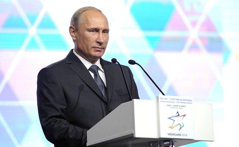 Путин: Россия выполняет требования WADA в полном объеме