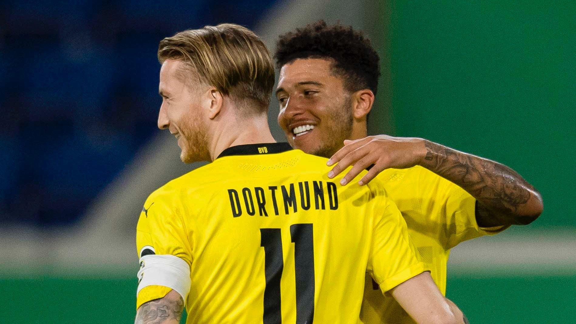 «Боруссия» стартовала в Кубке Германии с разгромной победы