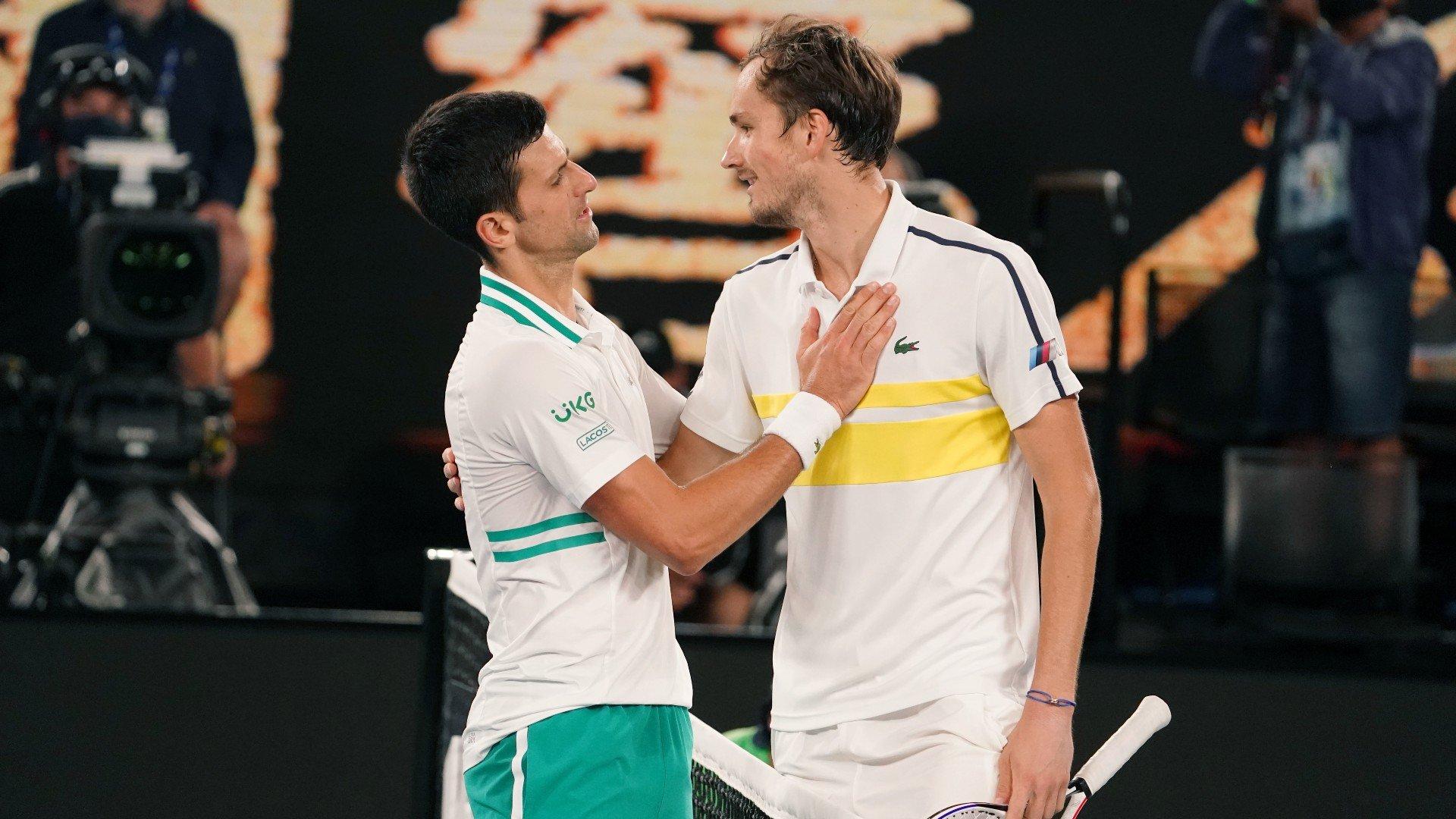 Даниил Медведев проиграл финал Australian Open-2021