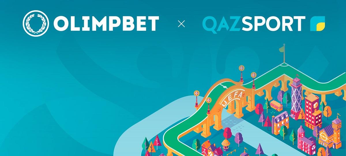 БК Olimpbet стала спонсором трансляций Евро на двух телеканалах Казахстана