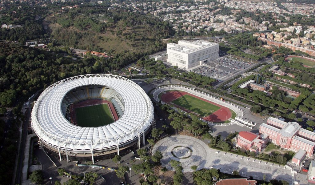 Олимпийский стадион, Рим
