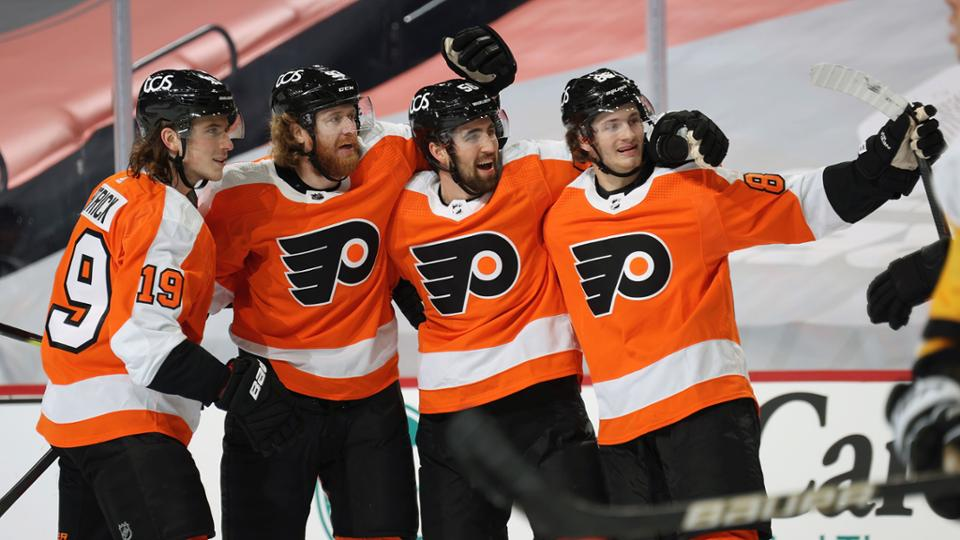 """""""Филадельфия"""" победила """"Питтсбург"""" в стартовом сезона НХЛ"""