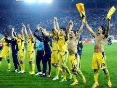 Харьковский «Металлист» празднует победу