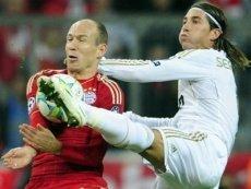 Эпизод матча «Реал Мадрид» — «Бавария Мюнхен»