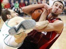 Эпизод баскетбольного матча