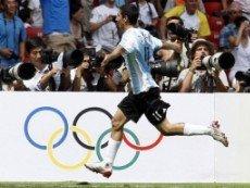 Анхел ди Мария на Олимпийских играх в Пекине