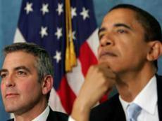 Джордж Клуни разыграет в лотерею билеты на благотворительный обед в поддержку Барака Обамы