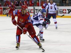 В финале хоккейного чемпионата мира сыграют Россия и Словакия