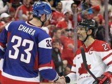На домашней Олимпиаде канадцам со словаками пришлось непросто