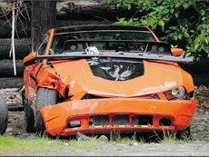 Лотерейный счастливчик едва не погиб в аварии