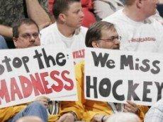 Больше всего от локаута в НХЛ пострадали болельщики