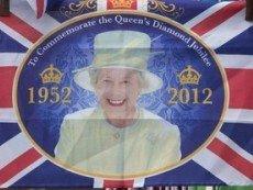 Плакат, посвященный 60-летию царствования Елизаветы II