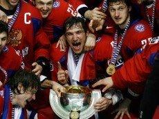 Сборная России по хоккею признана самым вероятным кандидатом на победу на ЧМ 2013