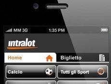 Интерфейс iOS-приложения Intralot