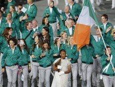 Члены ирландской делегации на Олимпийских играх