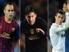 В UEFA назвали тройку претендентов на звание «Лучший футболист Европы»