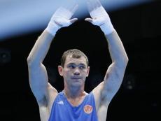 Егор Мехонцев единственный из россиян вышел в финал боксерского турнира Олимпиады в Лондоне