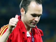 Иньеста - лучший игрок Европы 2011-2012