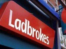Вывеска Ladbrokes