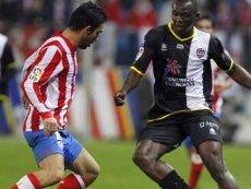 Эпизод матча между «Леванте» и «Атлетико»