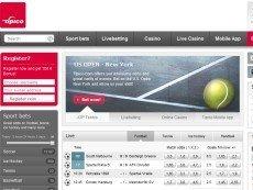 Скриншот сайта Tipico