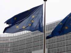 У здания Европейской Комиссии