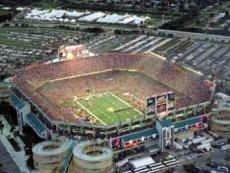 Футбольный стадион в США