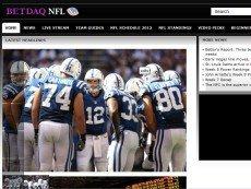 Скриншот сайта BetdaqNFL.com