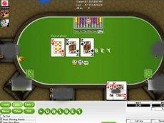 Скриншот покерной игры от Unibet