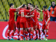 Россия войдет в «десятку» сильнейших команд мира по версии FIFA