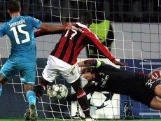 Букмекер William Hill оценивает шансы «Зенита» и «Милана» в матче на «Сан Сиро» почти как равные