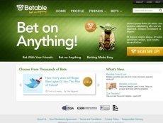 Скриншот с сайта Betable