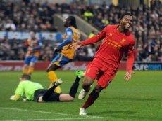 Свой первый гол за новую команду Старридж забил в матче против «Мэнсфилд Таун»