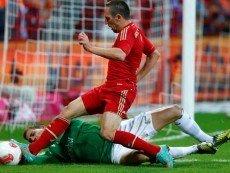 «Арсенал» не может соперничать с  «Баварией» на данный момент, считает прогнозист Goal.com